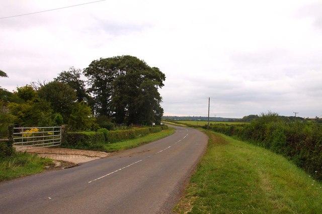 The B4019 to Faringdon