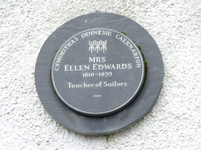 Mrs Ellen Edwards 1810 - 1899, Caernarfon