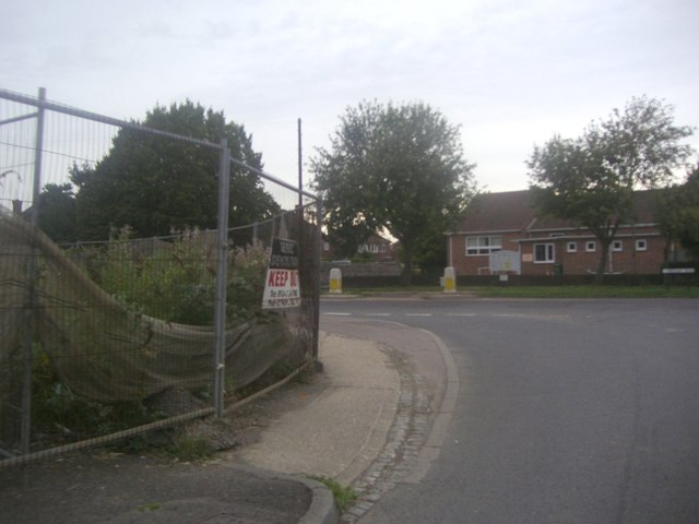 The junction of Selsey Road and Birdham Road