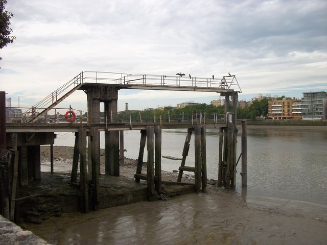 Old Jetty at Battersea