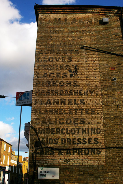 'Ghost sign', Dartmouth Park