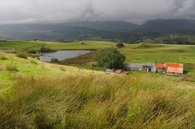 View across Llety-Gwilym