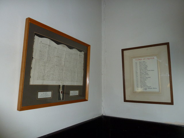 Church of the Assumption of the Blessed Virgin Mary Upper Froyle- framed certificates