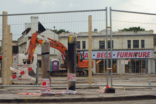 Reeves Corner - demolition complete