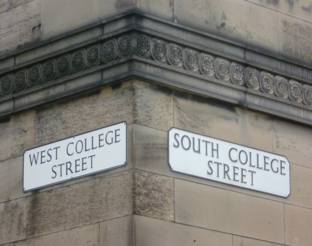 Street signs, Potterrow