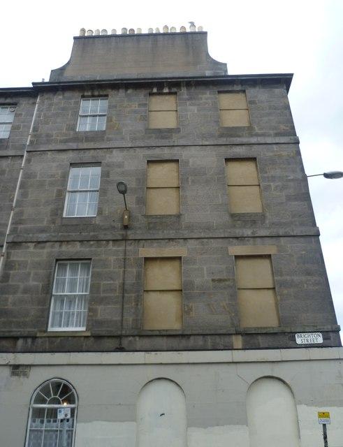 Windows in Brighton Street