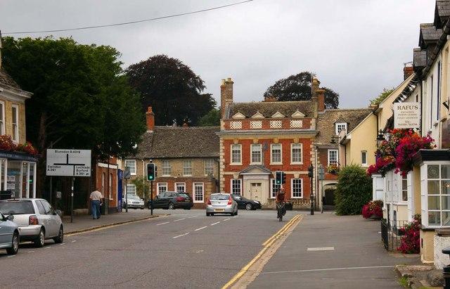 High Street in Highworth