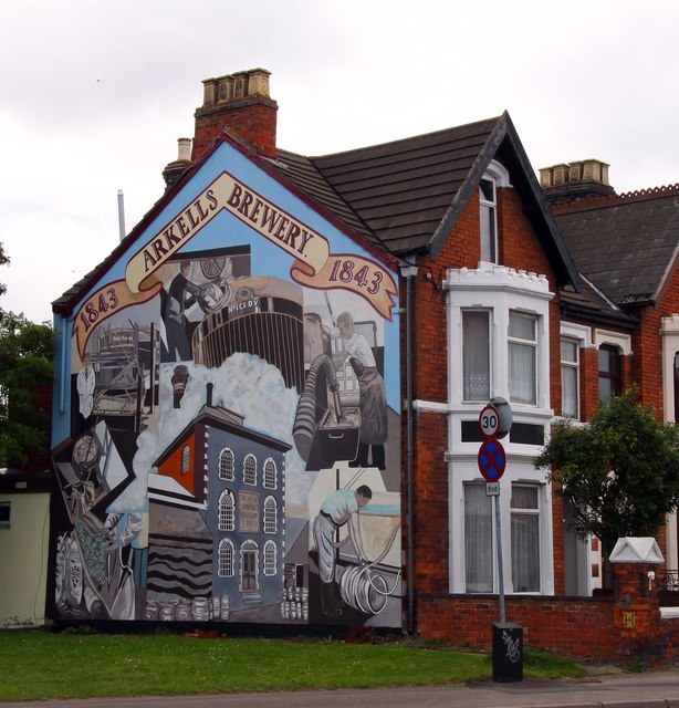 Mural on the side