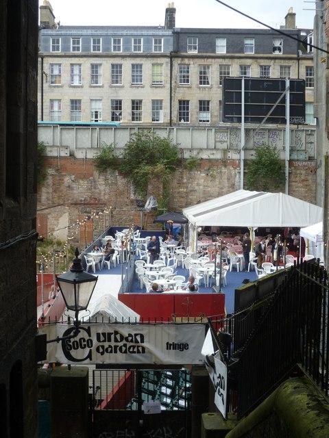 Urban Garden, Edinburgh Festival