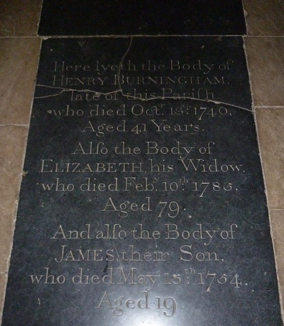 Church of the Assumption of the Blessed Virgin Mary Upper Froyle- ledger slab (5)
