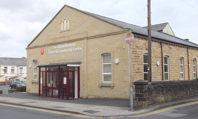 """The Salvation Army"" 3 Stanley Street, Nelson, Lancashire BB9 7EL"