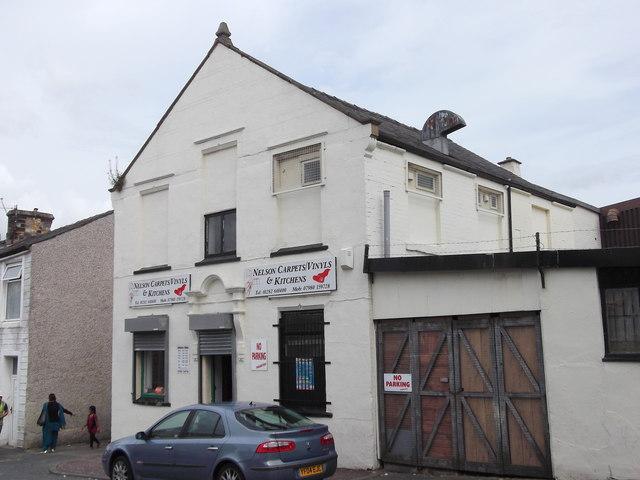 """Nelson Carpets & Kitchens"" 8 Albert Street, Nelson, Lancashire BB9 7EY"
