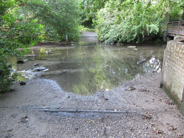 Ford on Letcombe Brook