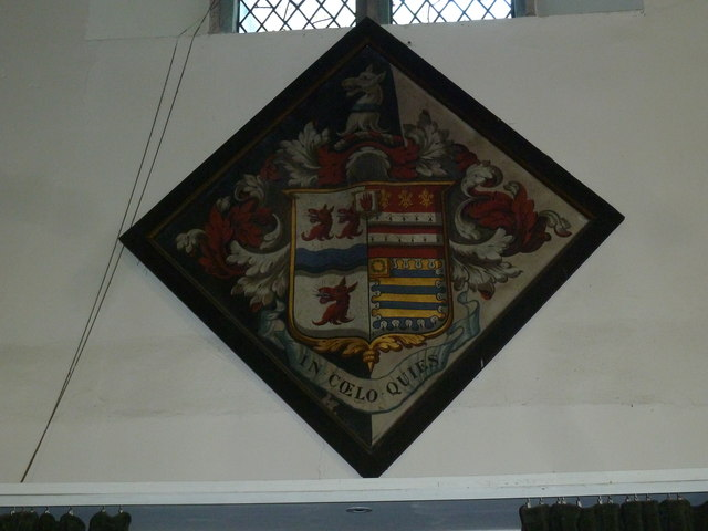 Church of the Assumption of the Blessed Virgin Mary Upper Froyle- hatchment (3)