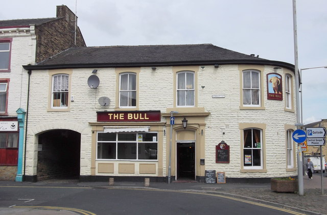 """The Bull"" (Pub) 89 Scotland Road, Nelson, Lancashire BB9 7XH"