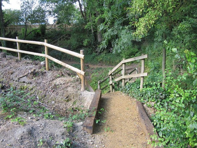 New path off the lane