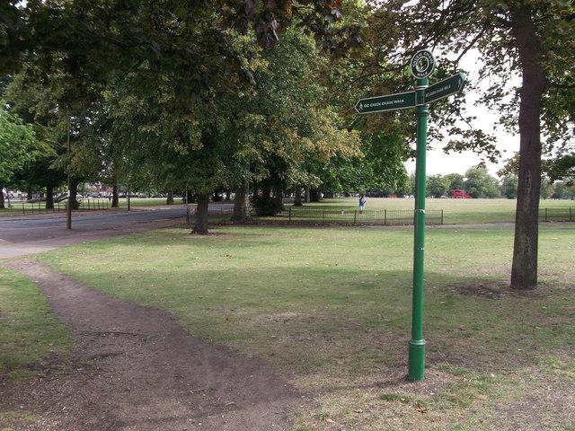 Green Chain Walk on Plumstead Common