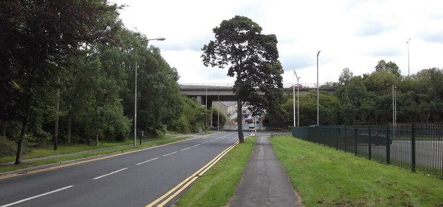 M65 Bridge over the B6249 Carr Road, Nelson