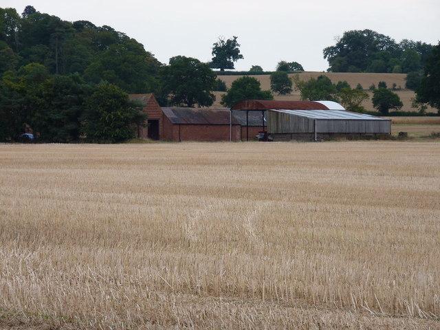Birchley Farm from Chesterton Road