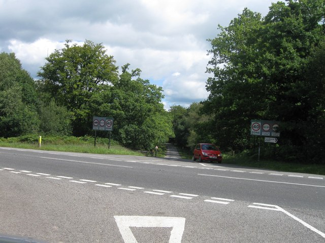 Junction with A337