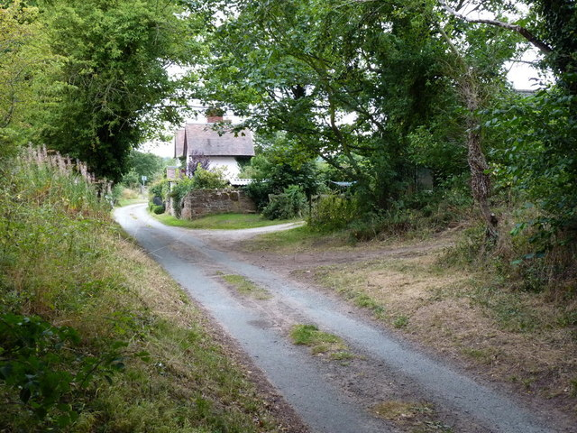 Copley Cottage from the lane to the southeast