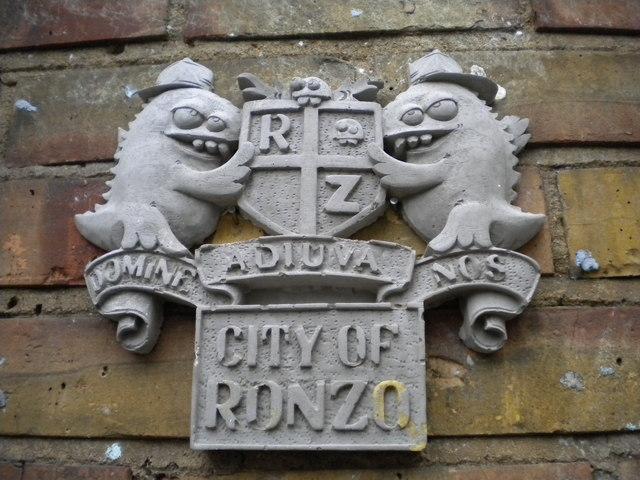 Wall plaque, Hanbury Street E1