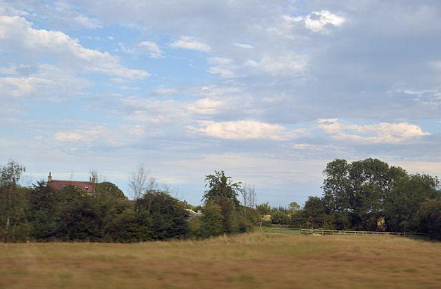 Farmland at Rose farm