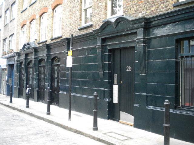 Dorways, Old Montague Street E1