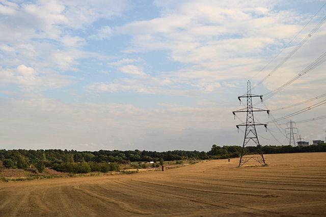 Fields towards Byram Ash