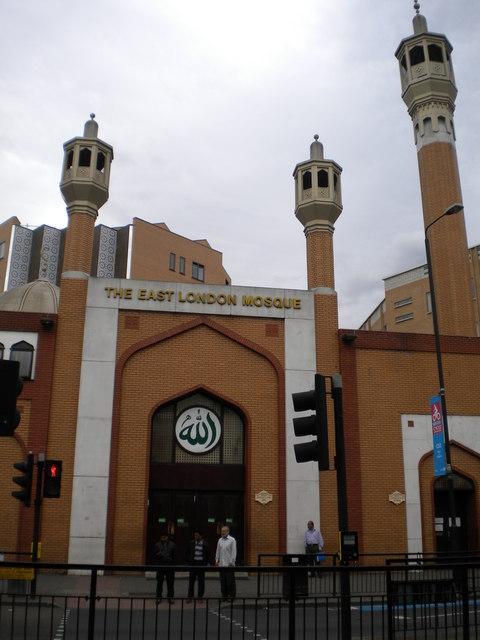 Entrance to East London Mosque, Whitechapel Road E1