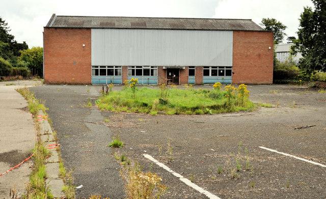 Vacant warehouse, Dunmurry