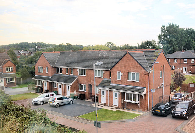 Housing in Marshall Mews Castleford