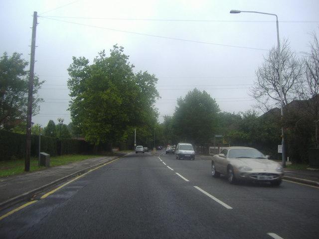 Rickmansworth Road by Mount Vernon hospital