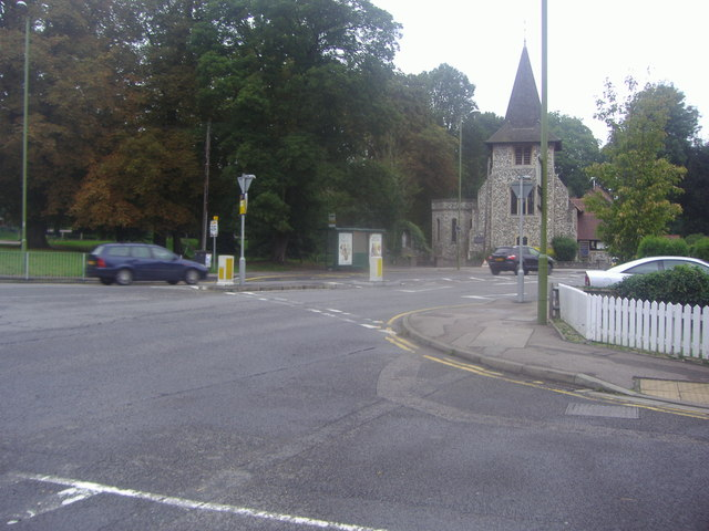 Roundabout on the A412, Rickmansworth