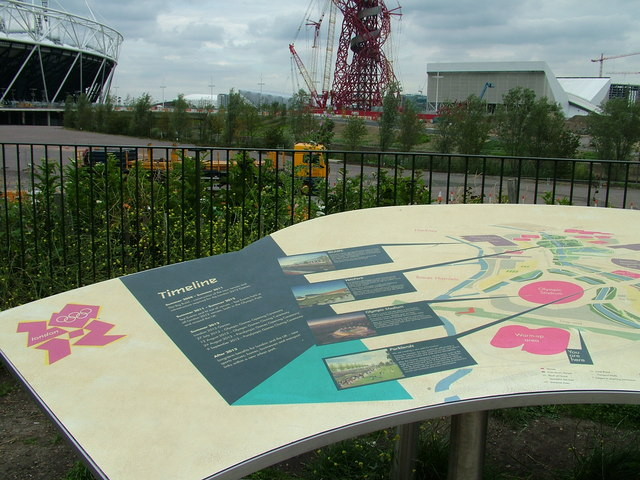 Information board near the View Tube
