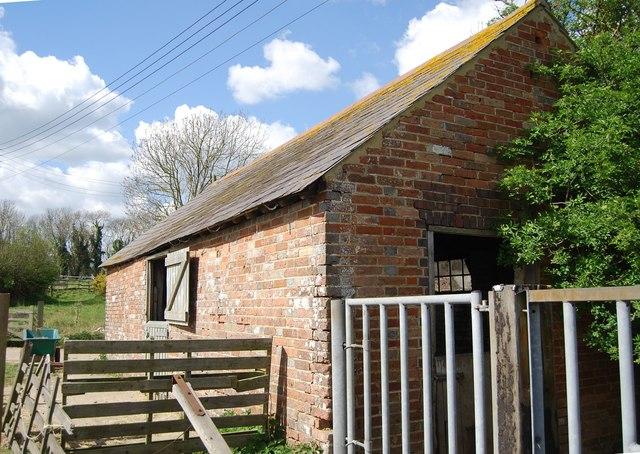 Farm building, Lower Lidham Hill Farm