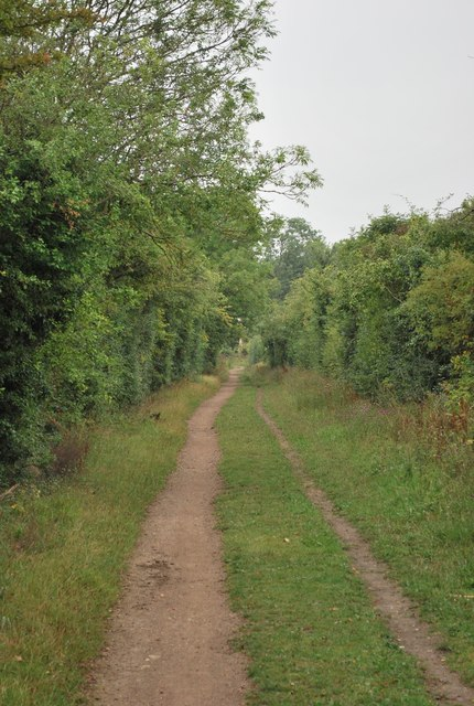 Track leading from Ickleford to Pirton