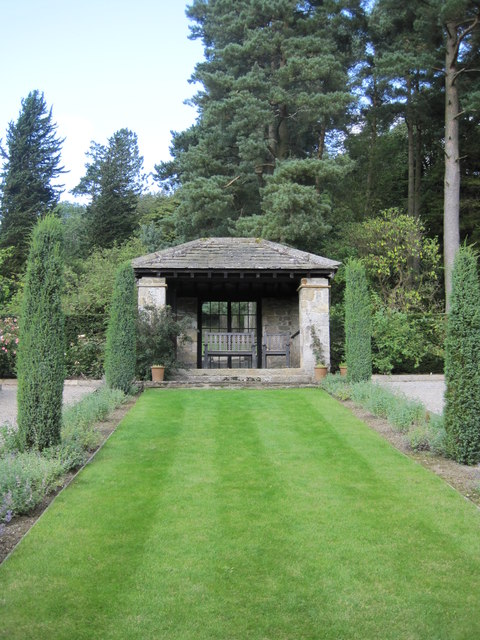 The Summer House at Parcevall Hall