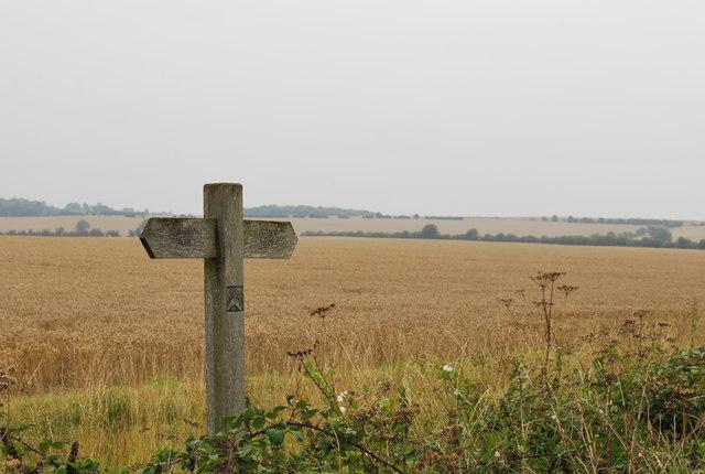 Sign Post - Hitchin or Pirton