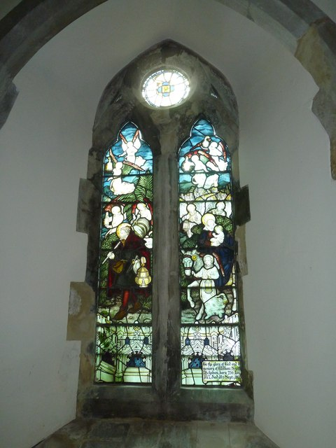 Church of the Assumption of the Blessed Virgin Mary Upper Froyle- stained glass window (7)