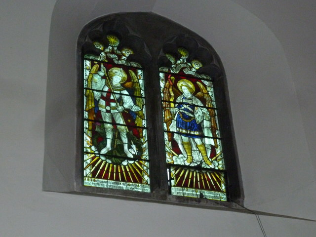 Church of the Assumption of the Blessed Virgin Mary Upper Froyle- stained glass window (12)