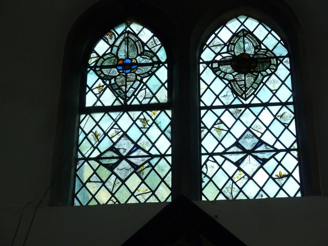 Church of the Assumption of the Blessed Virgin Mary Upper Froyle- stained glass window (14)