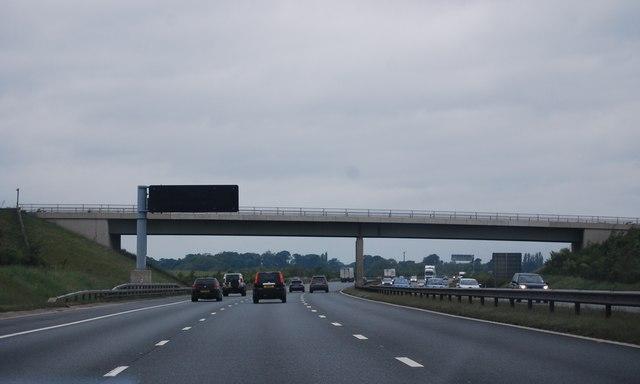 Wetherby Lane Bridge, A1(M)