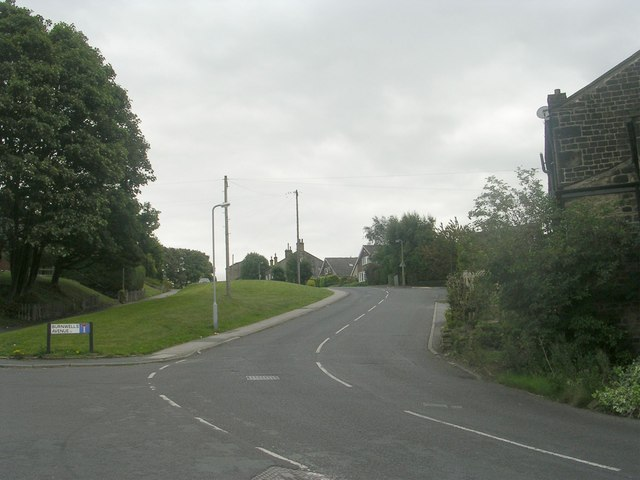 Thackley Road - viewed from Windhill Old Road