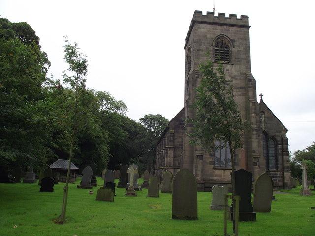 Holy Trinity Church, Hoghton