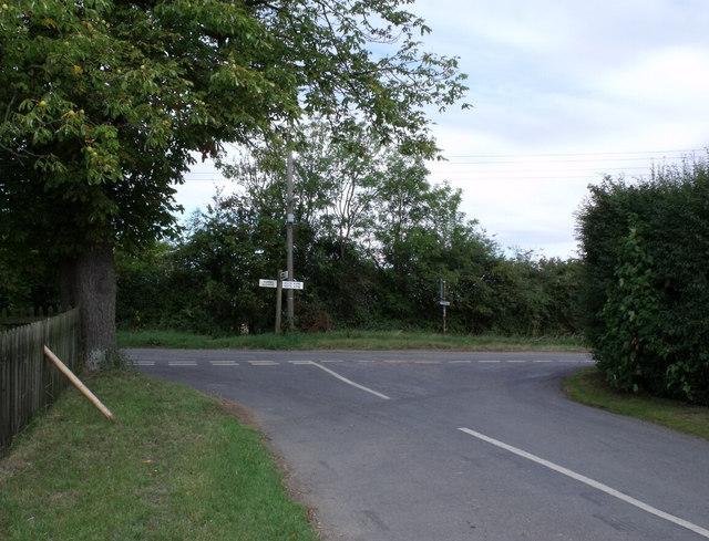 Junction at Ewerby Thorpe