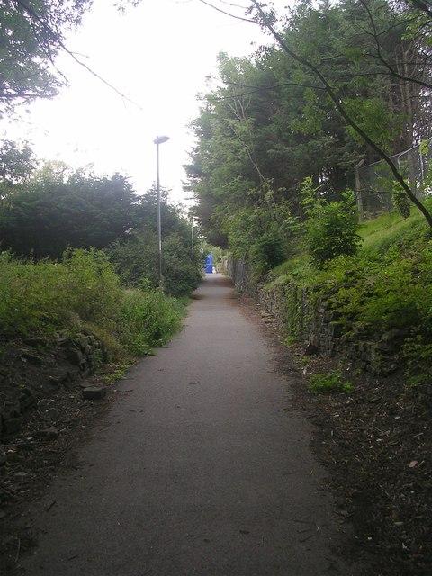 Footpath under Bridge BRB SHI-30 - Ballantyne Road