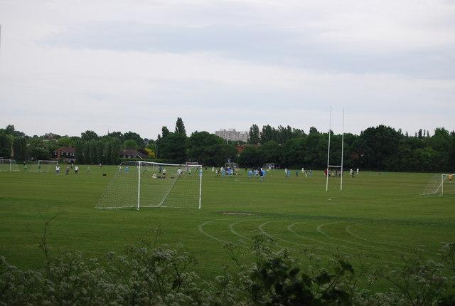 University playing fields, Wimbledon Common