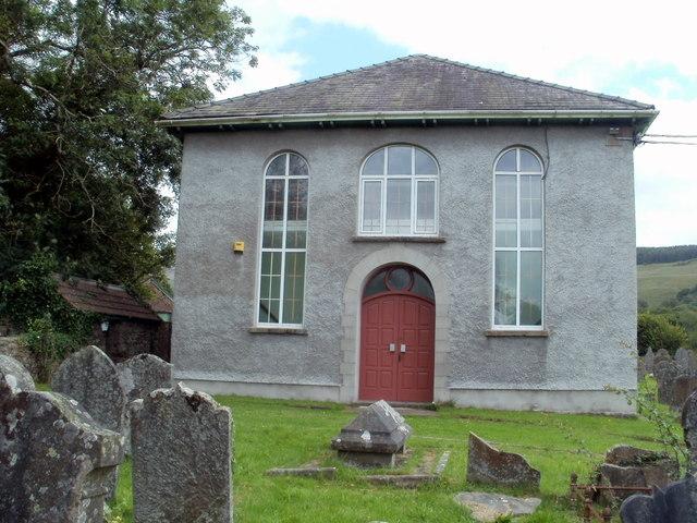 East side of  Capel Ty'nycoed, Ynyswen