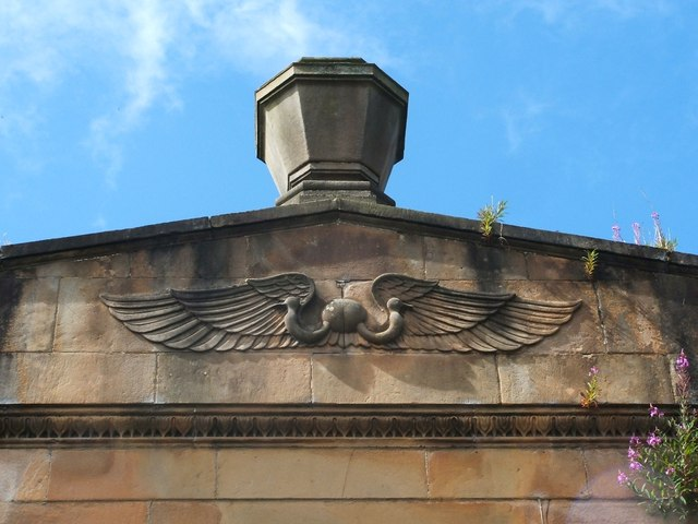 Sighthill Cemetery Lodge (detail)